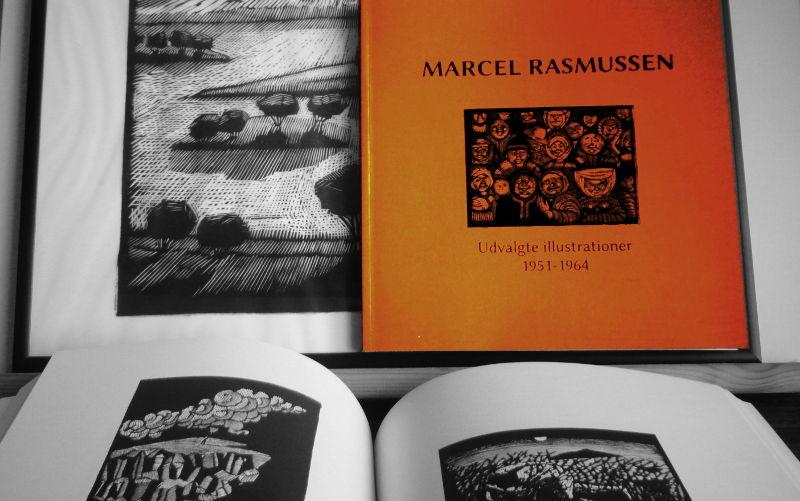Marcel Rasmussen: Udvalgte illustrationer 1951-1964