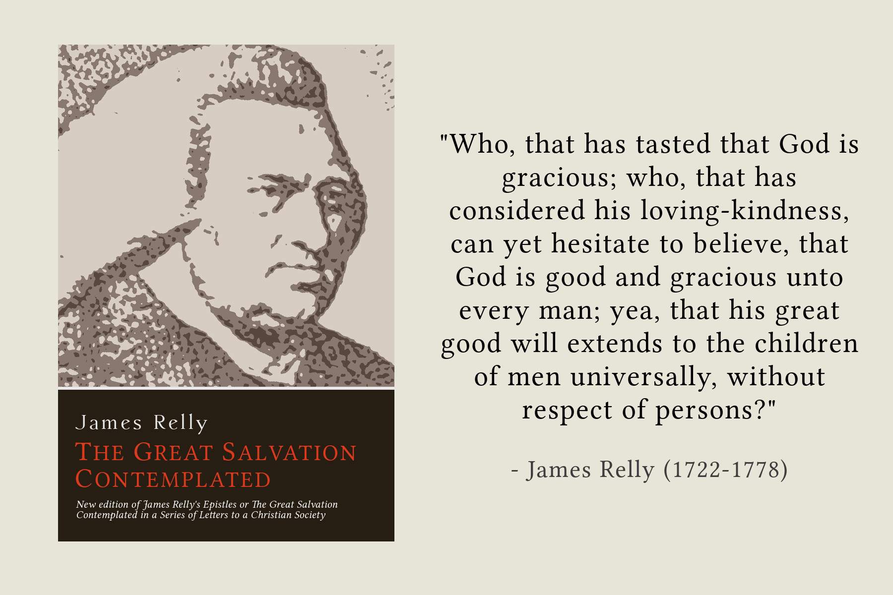 The Great Salvation Contemplated