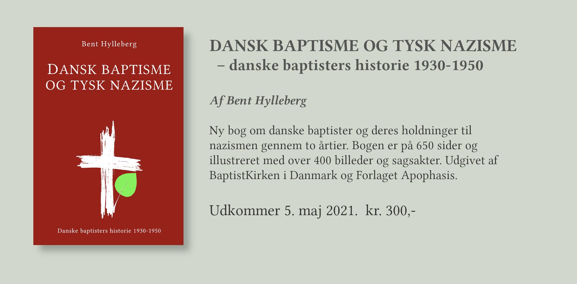 Dansk baptisme og tyske nazisme – danske baptisters historie 1930-1950